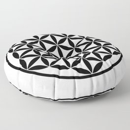 Pure Energy The Flower of Life Floor Pillow
