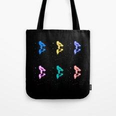 Little Birdland 'Round Midnight Tote Bag