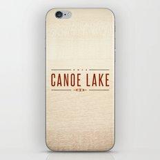 CANOE LAKE iPhone & iPod Skin