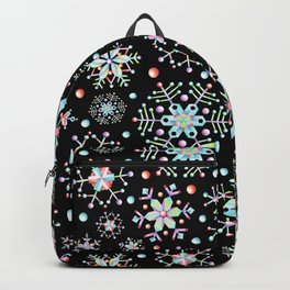 Prismatic Snowflakes Backpack