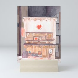 A shop front in Japan Mini Art Print