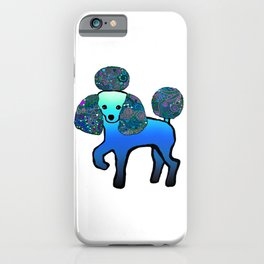 Divine Poodle iPhone Case