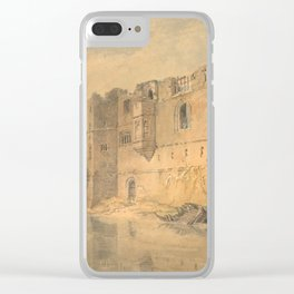"J.M.W. Turner ""Newark - upon - Trent"" Clear iPhone Case"