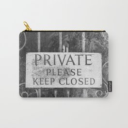 Private Carry-All Pouch