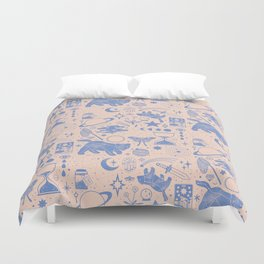 Collecting the Stars Duvet Cover
