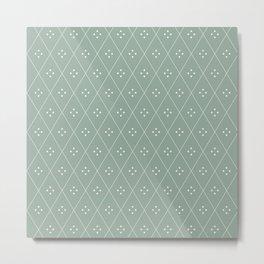 Mae Pattern XIX Metal Print