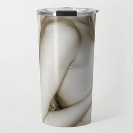 4364 Intimita Nuda Blonde Girl Nude Travel Mug