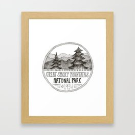 Great Smoky Mountain National Park Framed Art Print