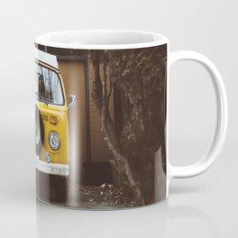 Yellow Van Ready For Road Coffee Mug