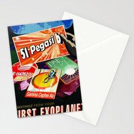 Vintage poster  - 51 Pegasi B Stationery Cards