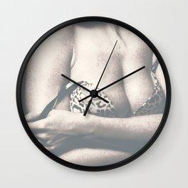Bust Wall Clock