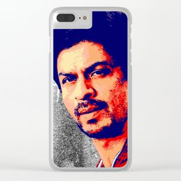 Shah Rukh Khan Clear iPhone Case