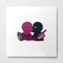 Vandal Lovers Metal Print