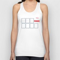 periodic table Tank Tops featuring The Big (Bang) Periodic Table by Boots