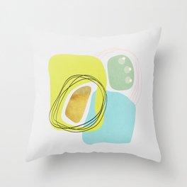 Modern minimal forms 48 Throw Pillow