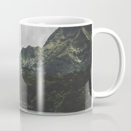 Green Mountain Lake - Hawaii Coffee Mug