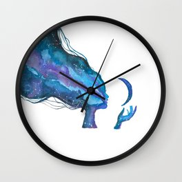 Nyx Goddess of the Night Wall Clock