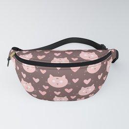 Cat Pattern | Kitty Kitten Pet Feline Gift Fanny Pack