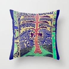 Jardin 5 Throw Pillow
