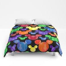 Mickey Mouse Rainbow Arrows Comforters