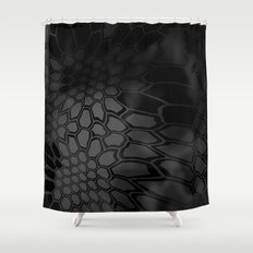 Typhon Camouflage Pattern Shower Curtain