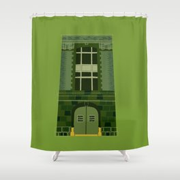 Ghostbusters HQ Shower Curtain