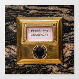 Champers Canvas Print