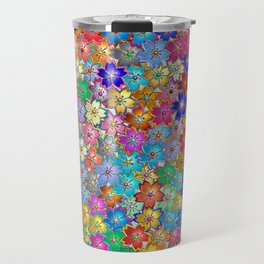 Flower_Pattern_20171101_by_JAMColorsVibes Travel Mug