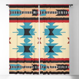 American Native Pattern No. 49 Blackout Curtain
