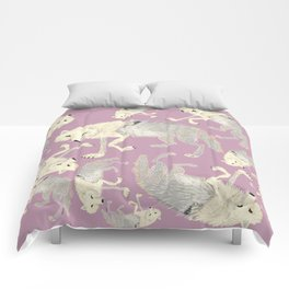 Totem Artic Wolf lilac Comforters