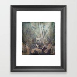 Angel Loves the Earth Framed Art Print