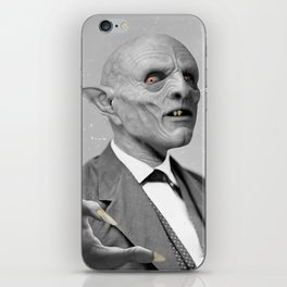 EATEN UP BY NOTHING iPhone Skin