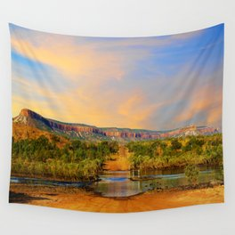 Sunset on the Cockburn Range - The Kimberley Wall Tapestry