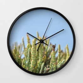 watching the sky Wall Clock