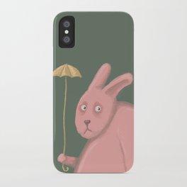 Sad Bunny  iPhone Case