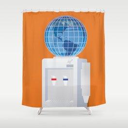 Let Anyone Take A Job Anywhere Shower Curtain