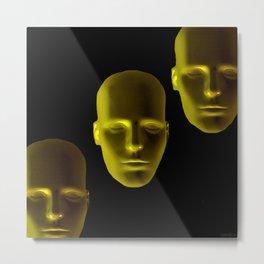 The sleep of the models of shop window Metal Print