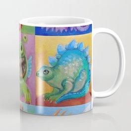 Baby Dragon Funny Monster Comic Illustration Painting for children Nursery decor Coffee Mug