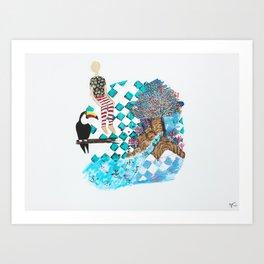 My Imaginary Spot Art Print