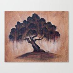 Sunrise Oak Canvas Print
