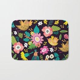 The floral floresta Bath Mat