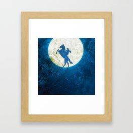 Surreal horse Framed Art Print
