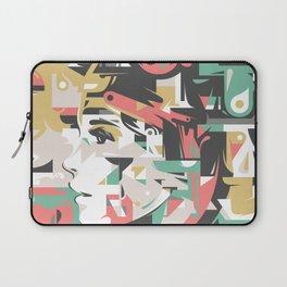 Brunette Laptop Sleeve