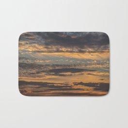 Pastel Sunset pt.4 Bath Mat