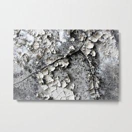 Cracked Paint - CoOperative  Metal Print