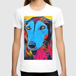 Saluki Portrait T-shirt
