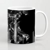 lantern Mugs featuring Lantern - black by Emma Stein