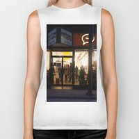 vancouver Biker Tanks featuring Cartems Vancouver by RMK Photography