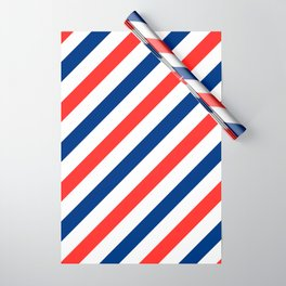 Barber Stripes Wrapping Paper