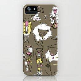 Los Amigos iPhone Case